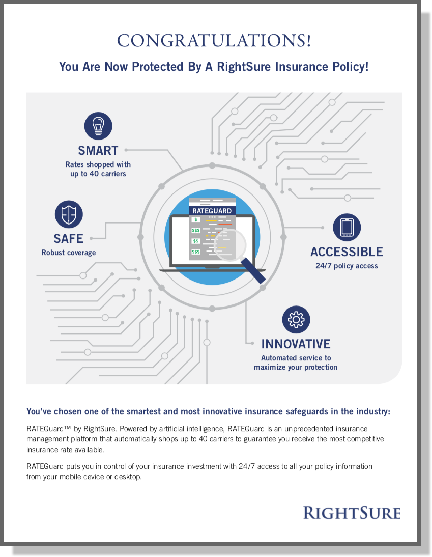 New RightSure Insurance Policy
