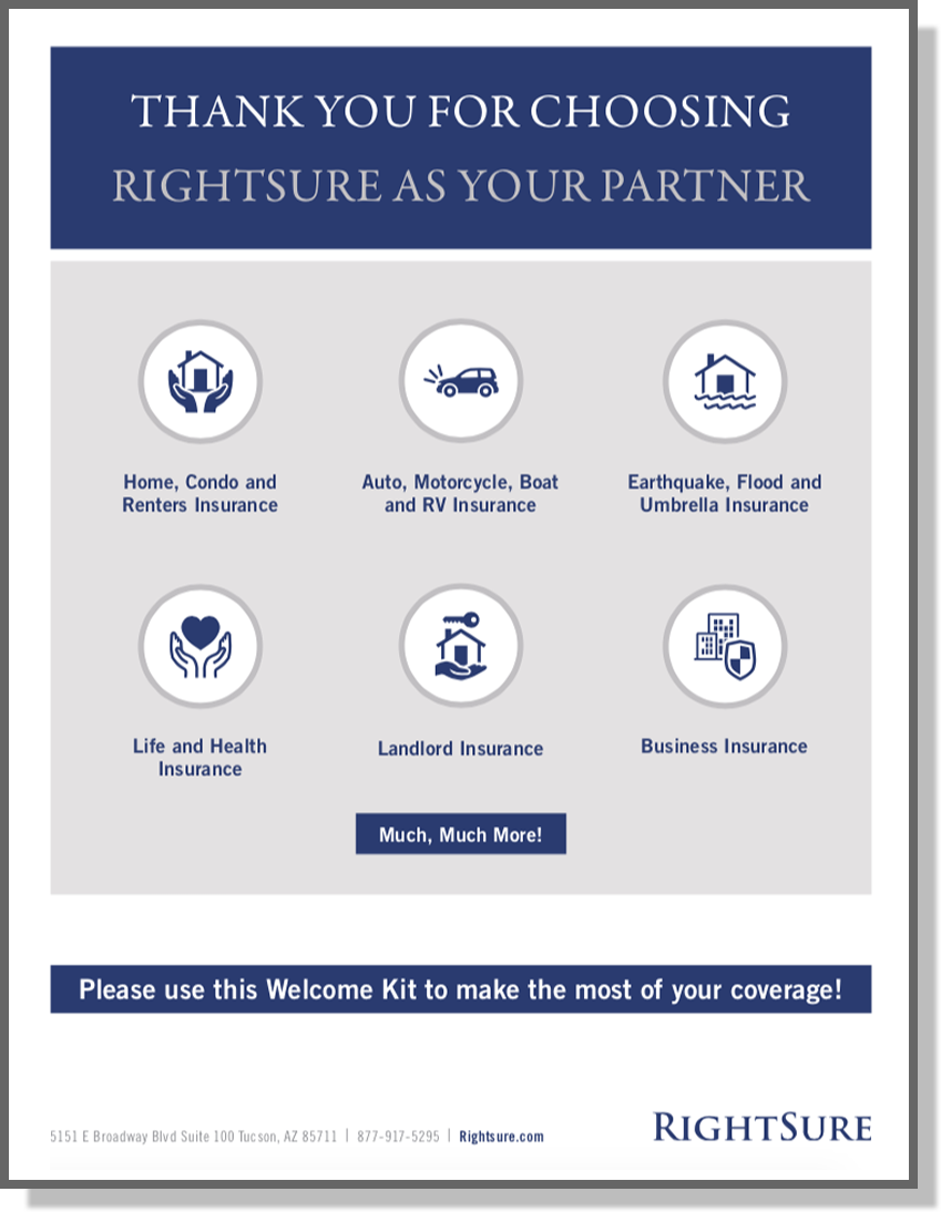 Rightsure Welcome Kit
